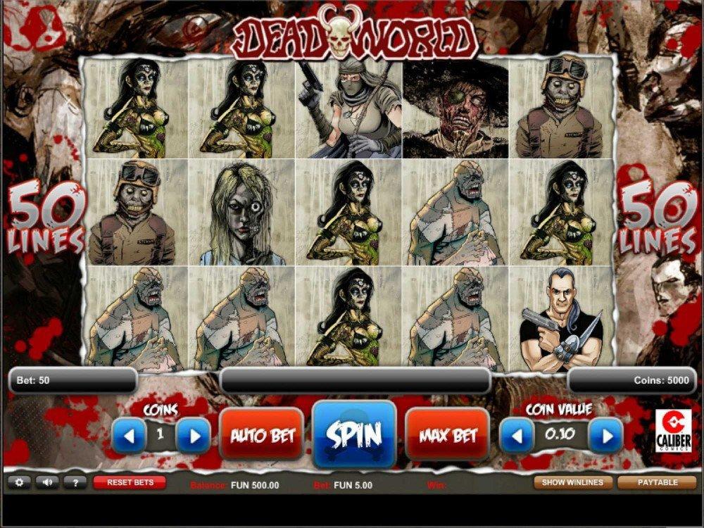 dead world gameplay สล็อตซอมบี้